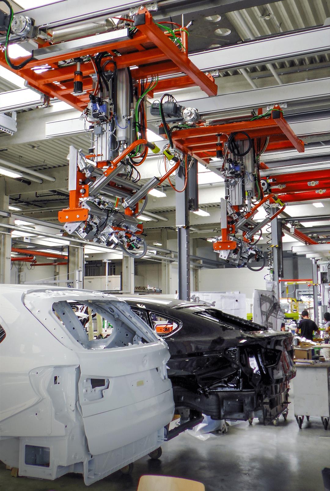 Heckklappenmontage Automotive